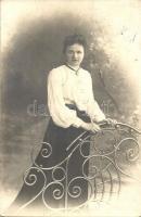 Hölgy fotója, Photographische Anstalt Bing Lady photo, Photographische Anstalt Bing