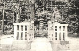 Grave Yoritomo of Kamakura