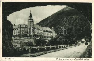 Lillafüred, Palota szálló az alagútból nézve