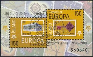 50th anniversary of Europa CEPT stamp, 50 éves az Europa CEPT bélyeg