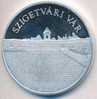 """2016. 10.000Ft Ag """"Magyar várak sorozat VII. - Szigetvár"""" 2016. 10.000 Forints """"Hungarian Castles series VII - Szigetvár"""""""