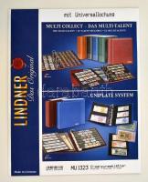 Lindner berakólap, MU1323, víztiszta, 10db/csomag Lindner Zwischenblätter, MU1323, glasklar, 10er-Pack