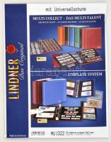 MU1322 - kettes osztású, víztiszta albumpótlás, 122 mm, 10db/csomag Multi collect Blätter mit 2 Streifen (122 mm), glasklar, 10er-Packung