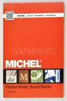 Michel NSZK / Berlin lemezhiba katalógus 1. kiadás Michel - Plattenfehler Bund/Berlin, 1. Auflage