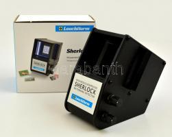 Leuchtturm - Sherlock vízjel vizsgáló (LED) Leuchtturm - Sherlock Wasserzeichenprüfer (LED-Licht)