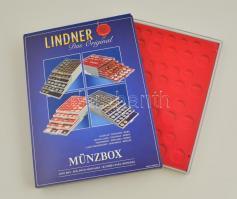 Érme tartó tálca dobozban - 4x DM  2204 Münzbox Standard für 4x DM-Kursmünzensätze  2204