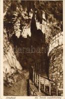 Lillafüred, Szent István cseppkőbarlang