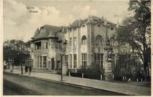 Győr, Kioszk, étterem