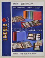 UNIPLATE pages with 4 pockets (97 x 128 mm),crystal clear, pack of 5 UNIPLATE Blätter mit 4 Taschen (97 x 128 mm), glasklar, 5er-Packung 099 - víztiszta albumpótlás