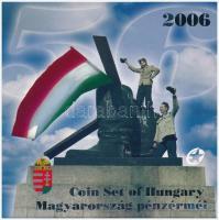 """2006. 1Ft-100 Forint (7xdiff) """"Revolution of 1956"""" coin set 2006. 1Ft-100Ft (7xklf) """"1956-os forradalom"""" forgalmi sor"""
