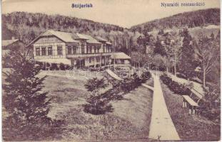 Anina, hotel, restaurant, Stájerlak, Nyaraló étterem