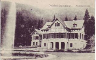 Dobsina, Ice cave, Grand Hotel, Dobsina, Jégbarlang, Nagyszálloda