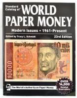 Standard Catalog of World Paper Money 1961-present (23rd edition Világ Bankjegyei katalógus 1961-napjainkig - Standard Catalog of World Paper Money 1961-present (23. kiadás)