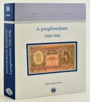 István Adamovszky: Hungary's Banknotes Vol. 2 - The Pengő 1926-1946. Color banknote catalogue in four-ring binder. Adamovszky István: Magyarország Bankjegyei 2. - A pengőrendszer 1926-1946. Színes bankjegy katalógus, nagyalakú négygyűrűs mappában.