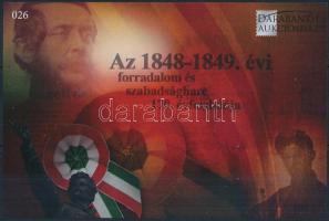 170th Anniversary of Revolution memorial sheet, Az 1848-1849. évi forradalom és szabadságharc 170. évfordulója emlékív
