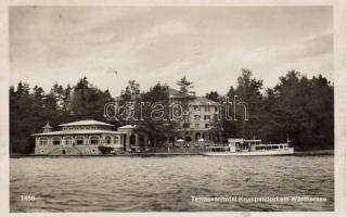 Krumpendorf am Wörthersee, Terrassenhotel, steamship