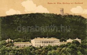 Baden bei Wien, Weilburg and Rauheneck castle ruins, Baden bei Wien, Weilburg és Rauheneck vár romjai