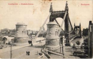 Budapest Erzsébet-híd, Divald