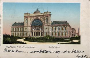 Budapest VII. Keleti pályaudvar, aranyozott
