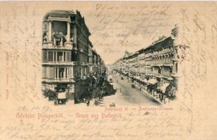 1897 Budapest VI. Andrássy út