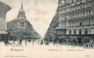 Budapest VI. Andrássy út, Pesti Hazai Első Takarékpénztár Egyesület, Edgar Schmidt kiadása