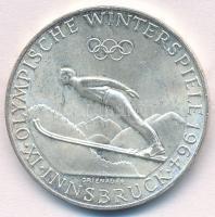 "1964. 50 Schilling ""Winter Olympics Insbruck"", 1964. 50Sch ""IX. Téli Olimpia Innsbruck"""