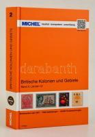 MICHEL Britische Kolonien und Gebiete, Band 2: L-Z, Michel brit gyarmatok és területek 1. kiadás L-Z, MICHEL Britische Kolonien und Gebiete, Band 2: L-Z