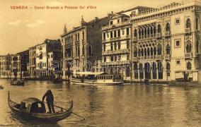 Venezia, Venice; Canal Grande, palace