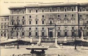 Rome, Roma; Palazzo Viminale, Ministero degli Interni, Enrico Verdesi / palace, Ministry of the Interior
