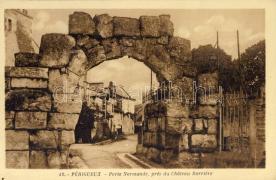 Perigueux, Porte Normande, Chateau Barriere / port, castle