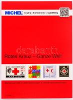 Michel Vörös Kereszt katalógus, MICHEL Red Cross thematic catalog, MICHEL Rotes Kreuz-Ganze Welt katalog