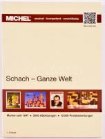MICHEL Schach-Ganze Welt katalog, Michel Sakk motívum katalógus, MICHEL Schach-Ganze Welt katalog