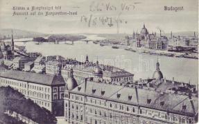 Budapest, Parlament, Margitsziget és I. kerület
