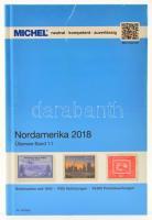 MICHEL Nordamerika-Katalog 2018 - Band 1.1, Michel Tengerentúl, Észak-Ameika katalógus 2018 band 1.1, MICHEL Nordamerika-Katalog 2018 - Band 1.1