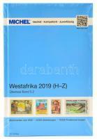 MICHEL Westafrika-Katalog 2018 - Band 5.2, Michel Tengerentúl, Nyugat-Afrika katalógus 2018 band 5.2, MICHEL Westafrika-Katalog 2018 - Band 5.2