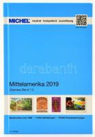 MICHEL Mittelamerika-Katalog 2018 - Band 1.2, Michel Tengerentúl, Közép-Amerika katalógus 2018 band 1.2, MICHEL Mittelamerika-Katalog 2018 - Band 1.2