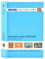 MICHEL Karibische-Inseln-Katalog 2019/2020 (ÜK 2/1) A-J, Michel Karib-szigetek 2019/2020 Band 2.1 (A-J), MICHEL Karibische-Inseln-Katalog 2019/2020 (ÜK 2/1) A-J