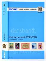 MICHEL Karibische-Inseln-Katalog 2019/2020 (ÜK 2/2) K-Z, Michel Karib-szigetek 2. rész, 2019/2020 (K-Z), MICHEL Karibische-Inseln-Katalog 2019/2020 (ÜK 2/2) K-Z