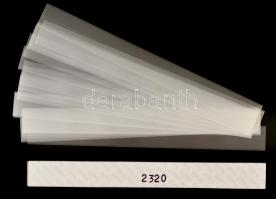 hawid Strips for coil strips 255 x 22 mm, crystal clear - pack of 25, HA2320 filacsík 255 x 22 mm, víztiszta, 25db/ csomag, hawid Klemmtaschen Streifen für Rollenmarken 255 x 22 mm, glasklar, 25 Stück