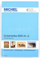 Michel Dél-Amerika 2020/2021 1 A-J, MICHEL Übersee-Katalog 3/1: Südamerika Band 1 A-J 2020/2021 (ÜK 3.1)