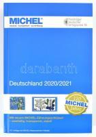 Michel Germany 2020/2021 catalog with perforation gauge, Michel Németország 2020/2021 katalógus, Michel fogazatmérővel, átlátszó, műanyag, Michel Deutschland 2020/2021 katalog Zähnungsschlüssel