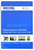 MICHEL Mittelmeerländer-Katalog 2020/2021 (E 9), Michel Mediterrán országok katalógusa 2020/2021 (E9) Gibraltár, Málta, Törökország, Török Ciprus, Ciprus, MICHEL Mittelmeerländer-Katalog 2020/2021 (E 9)