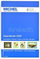 MICHEL Alpenländer 2020 (E1), Michel Alpesi országok 2020  Liechtenstein, Ausztria, Svájc, UNO Genf, UNO Bécs, MICHEL Alpenländer 2020 (E1)