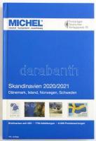 MICHEL Skandinavien-Katalog 2020/2021 (E 10), Michel Skandinávia katalógus 2020/2021, MICHEL Skandinavien-Katalog 2020/2021 (E 10)