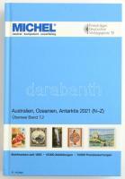 MICHEL-Übersee Australien, Ozeanien, Antarktis 2021- Band 2 N-Z (ÜK 7/2), Michel Tengerentúl Ausztrália, Óceánia, Antarktisz  katalógus 2021 (7.2) 6126-2020, MICHEL-Übersee Australien, Ozeanien, Antarktis 2021- Band 2 N-Z (ÜK 7/2)