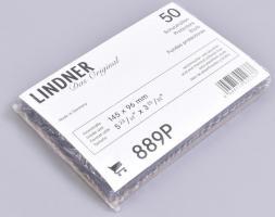 Protective Covers/Sleeves, internal measurements: 145 x 96 mm - pack of 50, 889P, bankjegytok, oldalt nyíló, 145x96 mm,  50 db/csomag, 889P Schutzhüllen Innenmaß 145 x 96 mm, 50er-Packung