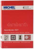 MICHEL Alpenländer 2021 (E1), Michel Alpok katalógus 2021 (E1)6081-1-2021, MICHEL Alpenländer 2021 (E1)