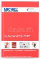 MICHEL Deutschland-Katalog 2021/2022, MICHEL Németország 2021/2022 6002-2021, MICHEL Deutschland-Katalog 2021/2022