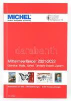MICHEL Mittelmeerländer-Katalog 2021/2022 (E 9), MICHELmediterrán országok katalógusa 2021/2022 (E 9) 6084-3-2021, MICHEL Mittelmeerländer-Katalog 2021/2022 (E 9)