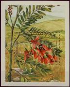 Flower, stamp exhibition block, Virág, Argentína bélyegkiállítás blokk